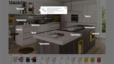 hackl lebensr ume individuelle 3d planung und einrichtung On küchenkonfigurator